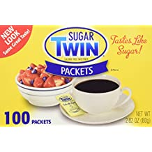Sugar Twin Packets: 100 CT