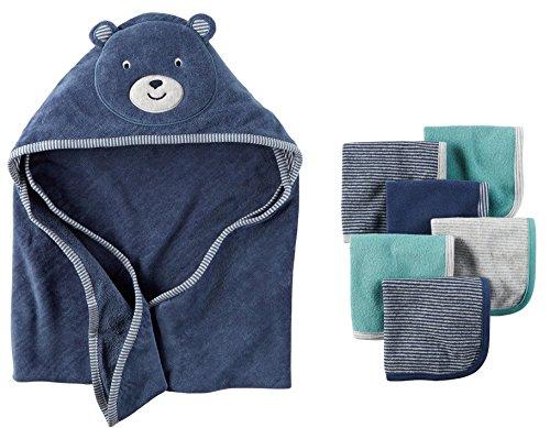 Carters Baby Hooded towel Washcloth