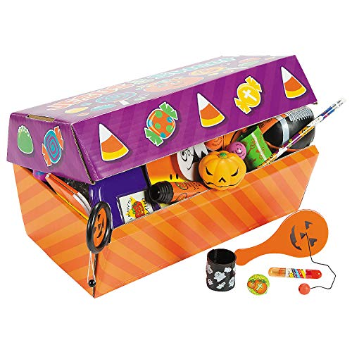 Fun Express - Trunk Or Treat Religious Assortment for Halloween - Toys - Assortments - 100Pc Assortments - Halloween - 100 Pieces