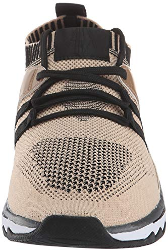 Amazon.com: A|X Armani Exchange Womens Lace Up Athleisure Sneaker Track Shoe: Shoes