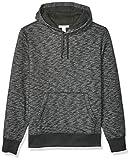 Amazon Essentials Men's Hooded Fleece Sweatshirt, Charcoal Space-Dye, XX-Large