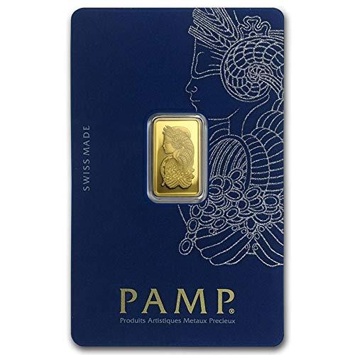 2.5 Gram PAMP Suisse Pure Gold Medallion