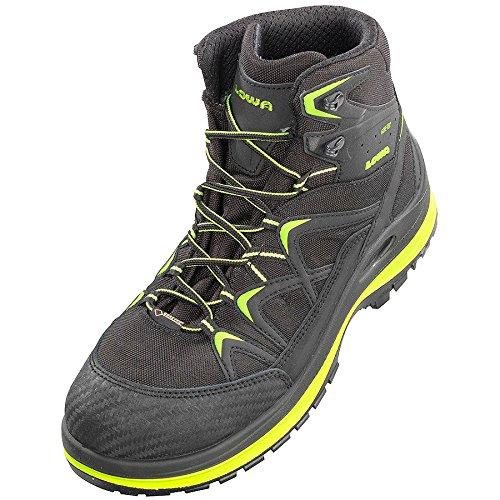 Elten 5903-47 Chaussures de sécurité Lowa Innox Work GTX Lime Mid S3 Taille 47