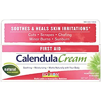 Boiron Calendula Cream, 2.5 Ounce, Homeopathic Medicine for Skin Irritation and Burns