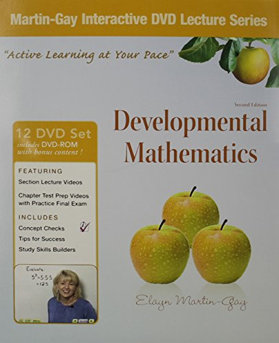 Interactive DVD Lecture Series  for Developmental Mathematics