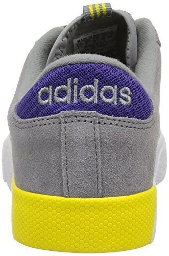 Adidas Daily Ultra -  para hombre Grey/Collegiate Purple/Yellow