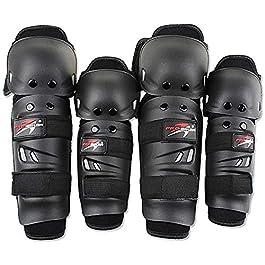 TREK 'N' RIDE Probiker Knee and Elbow Guard , Black
