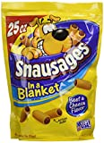 Snausages In A Blanket Beef & Cheese Flavor Dog Snacks, 25 Oz (Pack Of 4) For Sale
