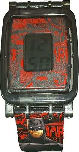 Batman v. Superman Boys Reversible LCD Watch (BVS4041)