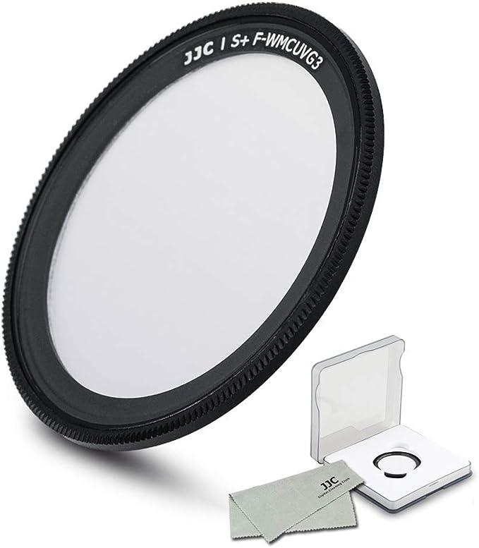 リコーGR III GRIII GR II GRII GR2 GR3,19層用UV保護フィルター、マルチコーティングウルトラスリムUV紫外線フィルター、フィルターケース付き。