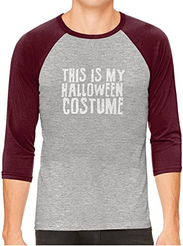 Austin Ink Apparel Funny Halloween Costume Gray Unisex