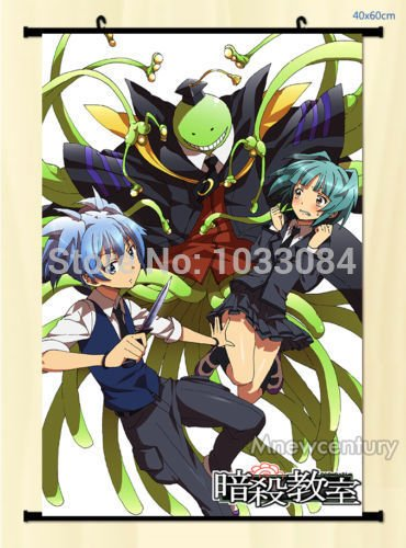 ben-alexander-anime-wall-scroll-assassination-classroom-nagisa-shiota-kaede-kayano-home-decor