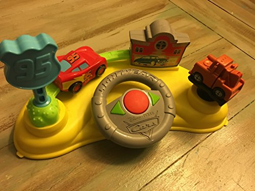 Disney Lightning Mcqueen Little Driver with Sounds Pixar Radiator Springs