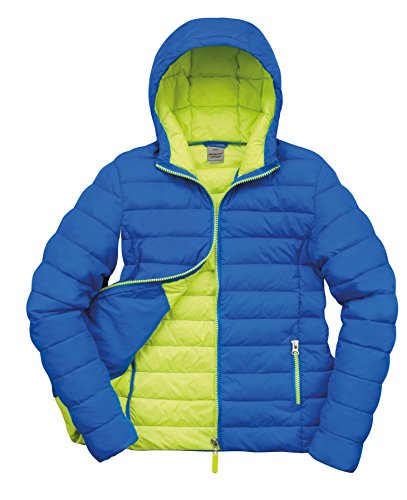 Snowbird Result Outdoor Blue Jacket Women's Blue Lime Hooded Ocean Urban Xs Tq7rTcRW