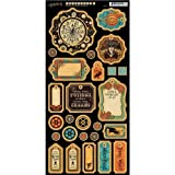 Cheap Graphic 45 Steampunk Spells Chipboard 1 for Arts and Crafts