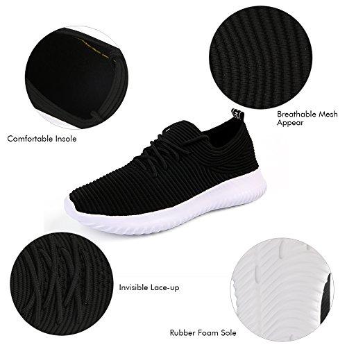 Gym Course Sneakers QIMAOO Fitness Confortable Homme Chaussures de Basket Randonnée Femme Jogging pour de Sports nxx7fwqSO