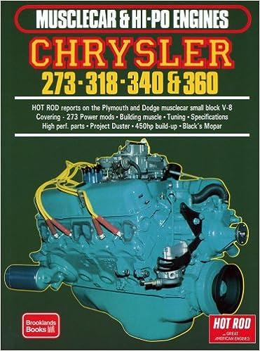 Chrysler 273-318-340 & 360: R M  Clarke: 9781855201026