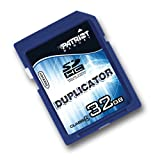 Patriot Duplicator 32 GB SDHC Class 4 Flash Memory Card with Auto Back-up PD32GSDHC4