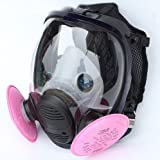 [Waller PAA] 3 in1 Painting Spraying for 3M 6800 Gas Mask Full Face Facepiece Respirator