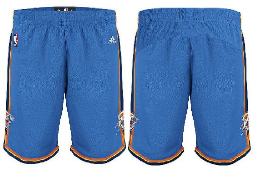 (NBA Oklahoma City Thunder Youth Boys 8-20 Replica Road Shorts, Small (8), Royal)