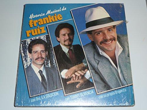Frankie Ruiz - Historia Musical De Frankie Ruiz [vinyl] - Zortam Music