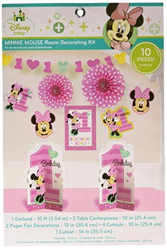 amscan Room Decorating Kit, Pink