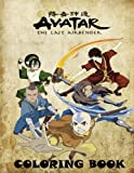 Avatar coloring book: The Last Airbender, Great coloring pages for kids (ages 4-8)