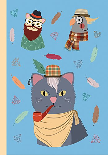Notebook: The Hipster Animals Collection Design C