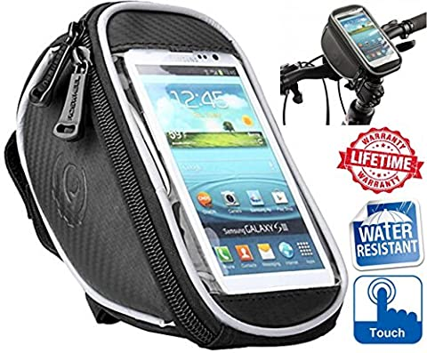 Bike Phone Holder, Pouch, Accessories, Mount Cradle, Pannier Bag On MTB Road Bicycle Stem With Waterproof 5.5