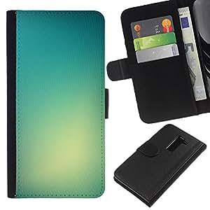 All Phone Most Case / Oferta Especial Cáscara Funda de cuero Monedero Cubierta de proteccion Caso / Wallet Case for LG G2 D800 // Light Color Bright Fog Glass Sun