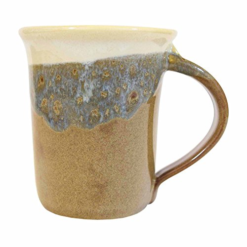 Clay in Motion Handmade Ceramic Small Mug 10oz – Desert Sand
