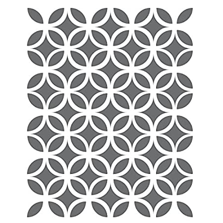 J BOUTIQUE STENCILS Circle Lattice Stencils -small scale- Template ...