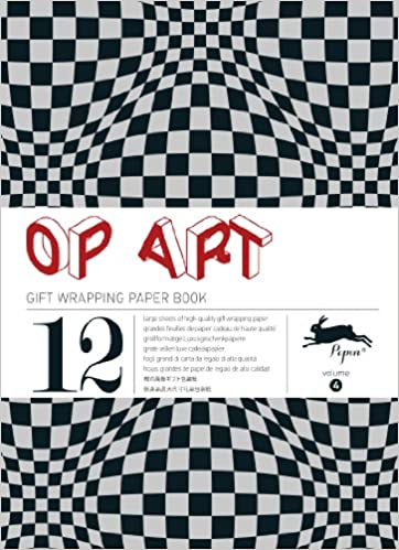 Op Art Gift Creative Paper Book Vol 04 Gift Wrapping Paper Book