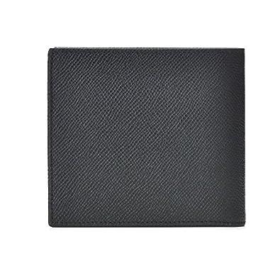 8412617f420f BVLGARI(ブルガリ) 財布 メンズ グレインレザー 2つ折り財布 ブラック 30396-0003-