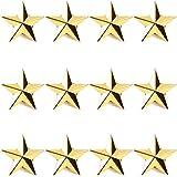 Gold Point Star Lapel Pins, Enamel Pin Set