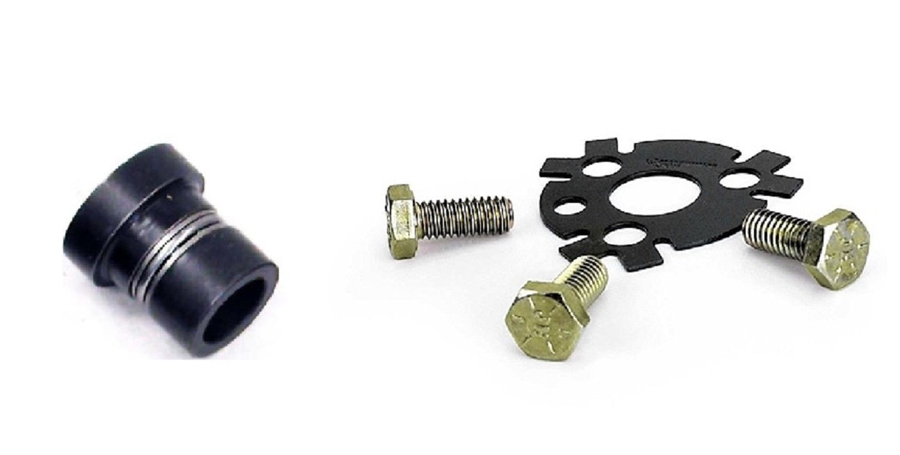 Roller Cam Button for Small Block Chevrolet Plus Cam Lock Plate for early 350 Chevrolet 5.7 5.7L V8 Lock Plate//Button