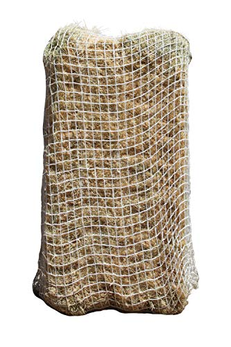 Freedom Feeder Mesh Net Full Bale Horse Feeder - Designed To Feed Horse For 7 Days - Reduce Horse Feeding Anxiety And Behavioral Issues