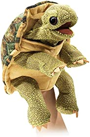 Folkmanis Standing Tortoise, Brown/A