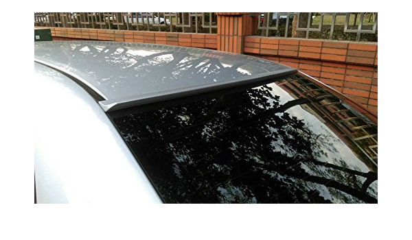 JR2 Unpainted for 2003 2004 2005 Honda Accord Coupe 2D Rear Window Roof Spoiler