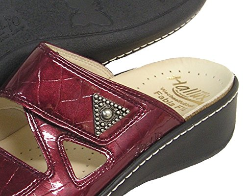 Fidelio Donna Hallux Fabia Borsite Sandalo Con Scivolo A Rilievo 33709 (bordo / Cocco)