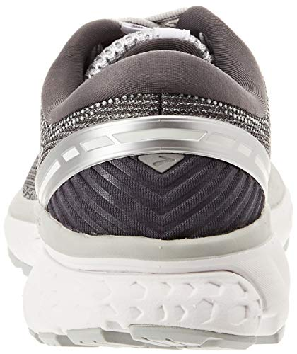 11 Silver de Gris Brooks Zapatillas Running Ghost Ebony 003 para Mujer Grey Zwxg4