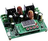 Yeeco Numerical Control DC DC Boost Buck Voltage Converter, 38V 6A Step Up Down Voltage Regulator Stablizer CC CV Power Transformer Supply Module Board Voltmeter Ammeter with LED Digital Display
