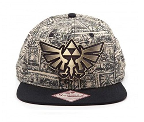 Zelda Baseball Cap Storyboard new Official Nintendo Gold snapback