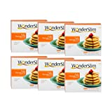 Cheap WonderSlim Protein Pancake Mix – Fluffy Hot Cakes – Flapjack – Low Fat Pancake Mix with 12g Protein – 6 Box Value Pack (Save 10%)