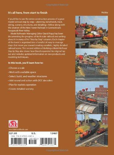 Building a Model Railroad Step by Step (Modern Railroader)