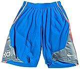 Nike Men's Kevin Durant KD Surge Essential Basketball Shorts Large Blue