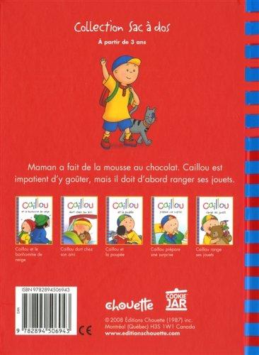 Caillou range ses jouets: Joceline Sanschagrin: 9782894506943: Amazon.com: Books