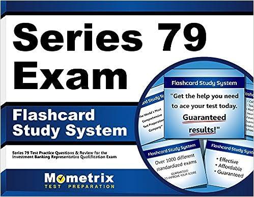 Series 79 Exam Flashcard Study System: Series 79 Test Practice