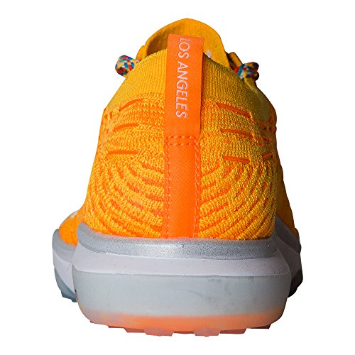 buy online 18bd2 e3961 ... reduced nike womens air zoom uredd flyknit joggesko laser oransje hvit  34774 3d7f8