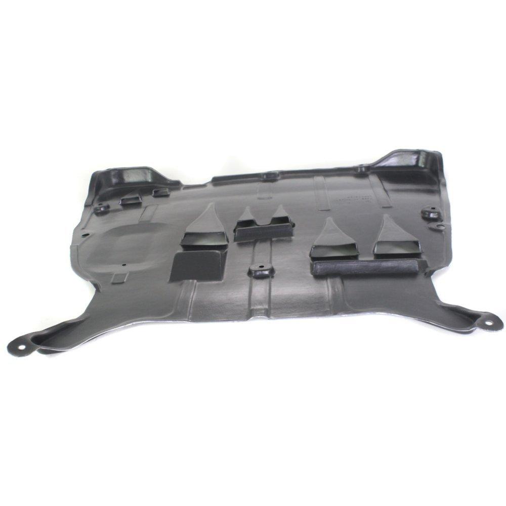 Evan-Fischer EVA20172049586 New Direct Fit Engine Splash Shield Plastic Engine Under Cover Front